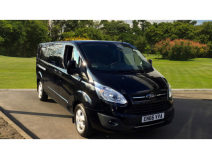Ford Transit Custom 290 Lwb Diesel Fwd 2.0 Tdci 130Ps Low Roof D/Cab Limited Van