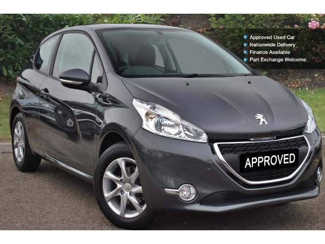 used peugeot 208 1 2 vti active 3dr petrol hatchback for