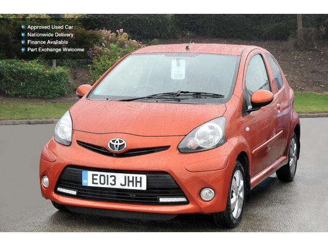 used toyota aygo 1 0 vvt i fire 3dr ac petrol hatchback. Black Bedroom Furniture Sets. Home Design Ideas