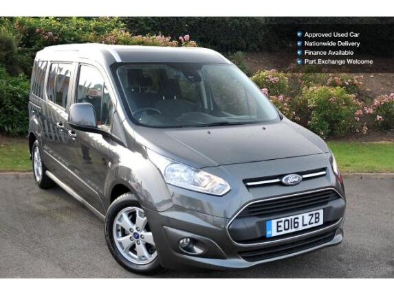 used ford grand tourneo connect 1 5 tdci 120 titanium 5dr diesel estate for sale bristol. Black Bedroom Furniture Sets. Home Design Ideas