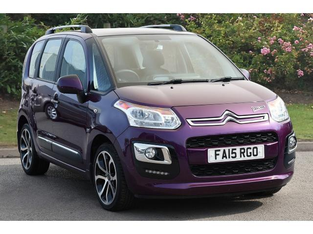 used citroen c3 picasso 1 6 bluehdi selection 5dr diesel. Black Bedroom Furniture Sets. Home Design Ideas