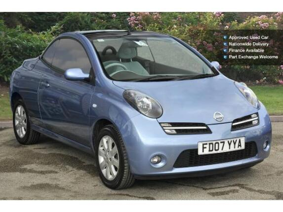 used nissan micra c c 1 6 essenza 2dr auto petrol cabriolet for sale bristol street motors. Black Bedroom Furniture Sets. Home Design Ideas
