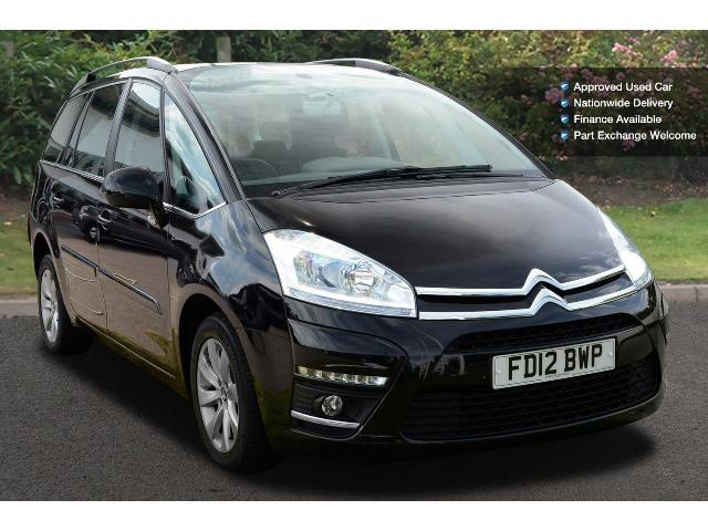 book a used citroen c4 grand picasso 1 6 hdi vtr 5dr. Black Bedroom Furniture Sets. Home Design Ideas