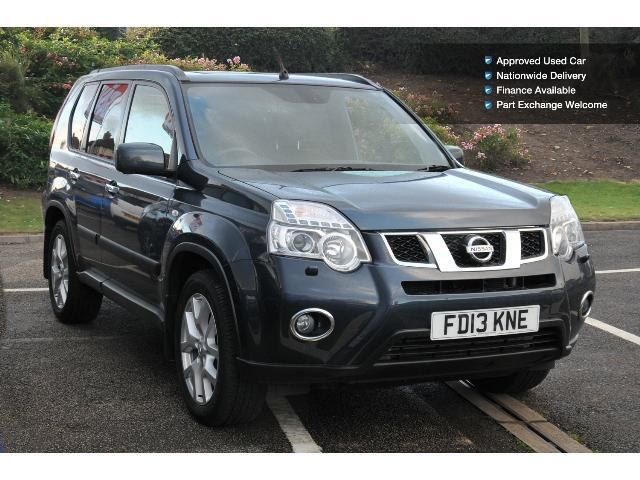 Book A Used Nissan X Trail 2 0 Dci Tekna 5dr Auto Diesel