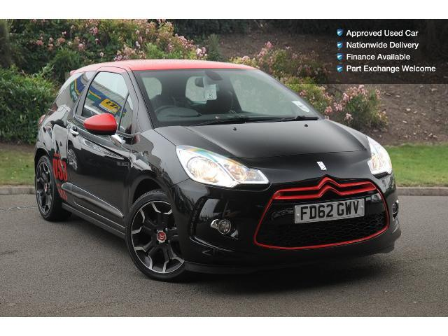 used citroen ds3 1 6 thp 16v 155 dsport red 3dr petrol hatchback for sale bristol street motors. Black Bedroom Furniture Sets. Home Design Ideas