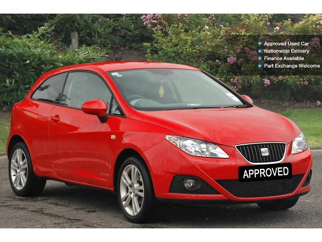 used seat ibiza 1 4 se copa 3dr petrol hatchback for sale bristol street motors. Black Bedroom Furniture Sets. Home Design Ideas
