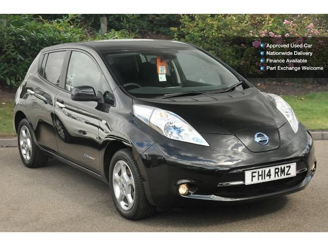 used nissan leaf acenta 5dr auto 6 6kw charger electric. Black Bedroom Furniture Sets. Home Design Ideas