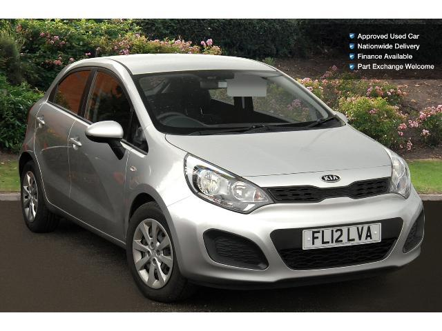 used kia rio 1 1 crdi 1 air ecodynamics 5dr diesel hatchback for sale bristol street motors. Black Bedroom Furniture Sets. Home Design Ideas