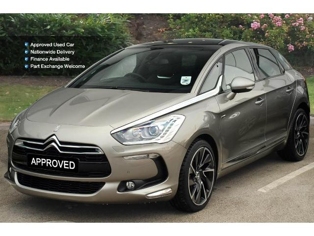 used citroen ds5 2 0 hdi hybrid4 airdream dsport 5dr egs diesel electric hybrid hatchback for. Black Bedroom Furniture Sets. Home Design Ideas
