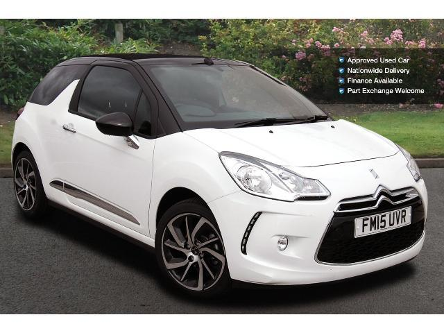 used ds 3 1 2 puretech 110 dstyle nav 2dr petrol cabriolet. Black Bedroom Furniture Sets. Home Design Ideas