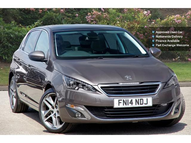 used peugeot 308 1 6 e hdi 115 feline 5dr diesel hatchback for sale bristol street motors. Black Bedroom Furniture Sets. Home Design Ideas