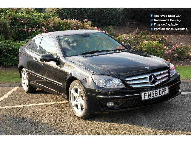 used mercedes benz clc clc 200 cdi se 3dr auto diesel coupe for sale bristol street motors. Black Bedroom Furniture Sets. Home Design Ideas