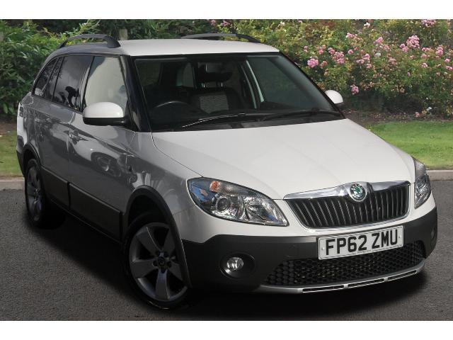 used skoda fabia 1 6 tdi cr 90 scout 5dr diesel estate for sale bristol street motors. Black Bedroom Furniture Sets. Home Design Ideas