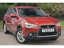 Mitsubishi Asx 1.8 [116] 4 Cleartec 5Dr 4Wd Diesel Estate