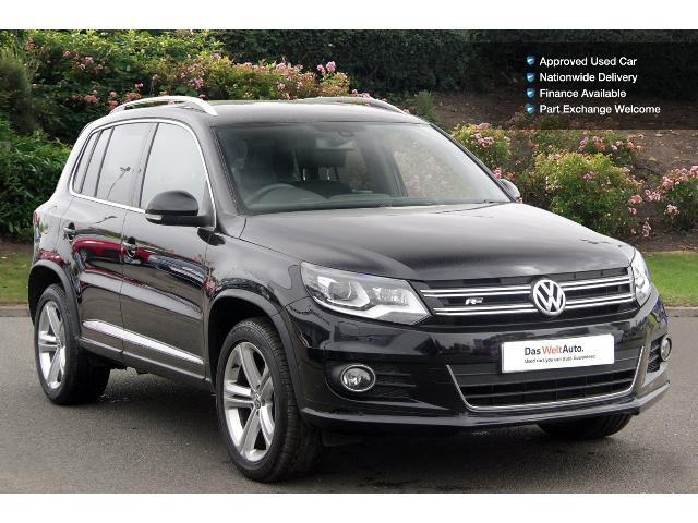 used volkswagen tiguan 2 0 tdi bluemotion tech r line edition 150 5dr dsg diesel estate for sale. Black Bedroom Furniture Sets. Home Design Ideas