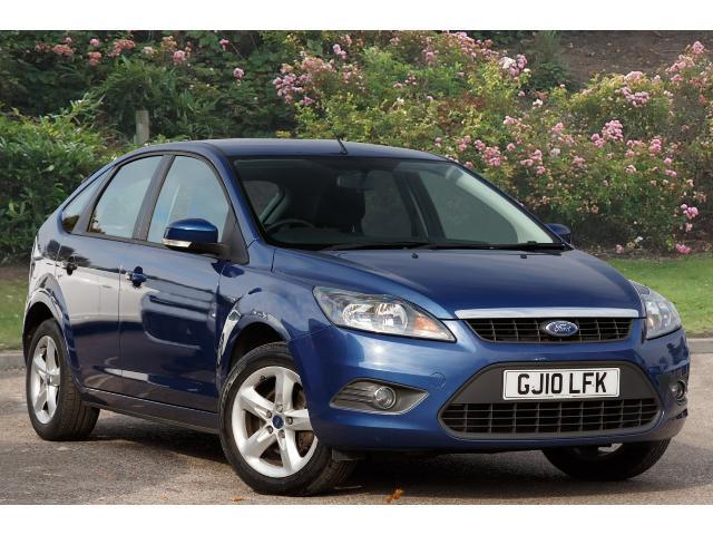 Used Ford Focus 1 6 Zetec 5dr Petrol Hatchback For Sale