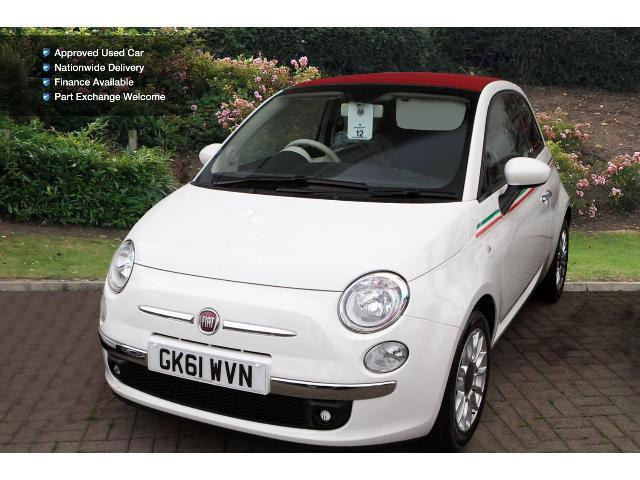 used fiat 500 1 2 lounge 2dr dualogic start stop petrol convertible for sale bristol street. Black Bedroom Furniture Sets. Home Design Ideas