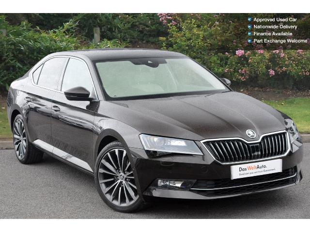 used skoda superb 2 0 tdi cr 190 laurin klement 4x4 5dr dsg diesel hatchback for sale. Black Bedroom Furniture Sets. Home Design Ideas