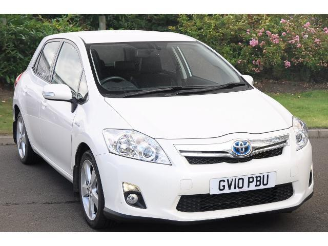 used toyota auris 1 8 vvti hybrid t spirit 5dr cvt auto hybrid hatchback for sale bristol. Black Bedroom Furniture Sets. Home Design Ideas