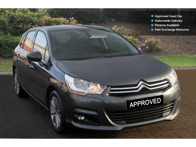 used citroen c4 1 6 e hdi 110 airdream vtr 5dr egs6. Black Bedroom Furniture Sets. Home Design Ideas