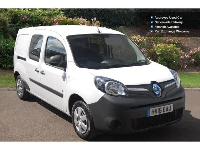 enquire on a used renault kangoo maxi ze electric ll21 44kw business i crew van cab auto. Black Bedroom Furniture Sets. Home Design Ideas