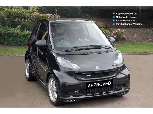 enquire on a used smart fortwo cabrio brabus xclusive 2dr auto petrol cabriolet bristol street. Black Bedroom Furniture Sets. Home Design Ideas