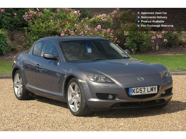 book a used mazda rx 8 4dr 231 petrol coupe test drive. Black Bedroom Furniture Sets. Home Design Ideas