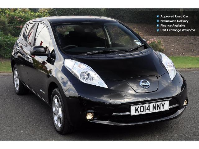 used nissan leaf acenta 5dr auto electric hatchback for sale bristol street motors. Black Bedroom Furniture Sets. Home Design Ideas
