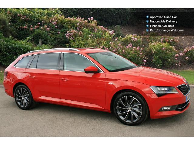 used skoda superb 2 0 tdi cr 190 laurin klement 5dr dsg diesel estate for sale bristol. Black Bedroom Furniture Sets. Home Design Ideas