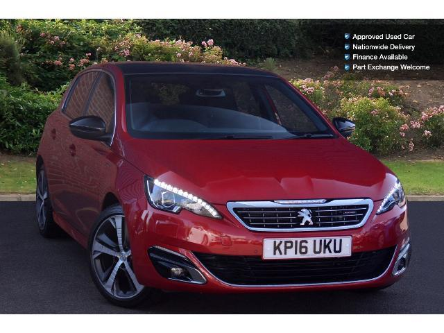used peugeot 308 1 2 puretech 130 gt line 5dr eat6 petrol hatchback for sale bristol street motors. Black Bedroom Furniture Sets. Home Design Ideas