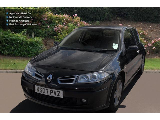 used renault megane 2 0 dci 150 gt 3dr diesel hatchback for sale bristol street motors. Black Bedroom Furniture Sets. Home Design Ideas