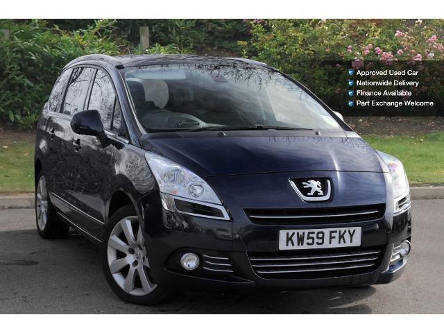 book a used peugeot 5008 2 0 hdi 150 exclusive 5dr diesel. Black Bedroom Furniture Sets. Home Design Ideas
