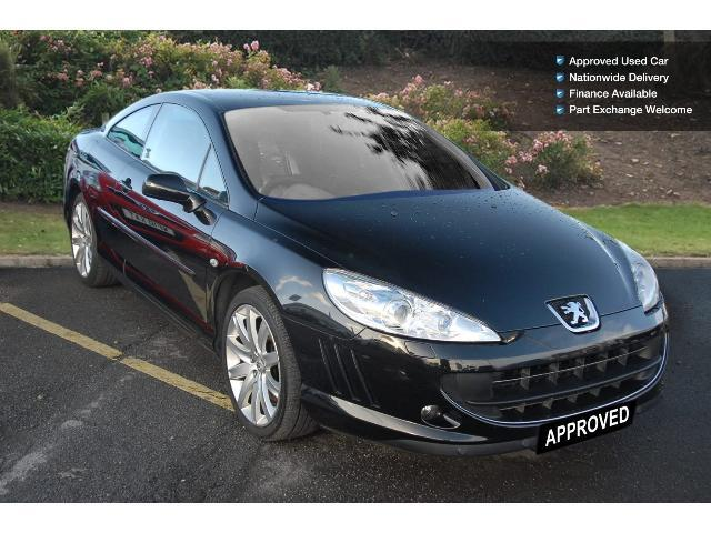 used peugeot 407 2 7 v6 hdi sport 2dr tip auto diesel coupe for sale bristol street motors. Black Bedroom Furniture Sets. Home Design Ideas