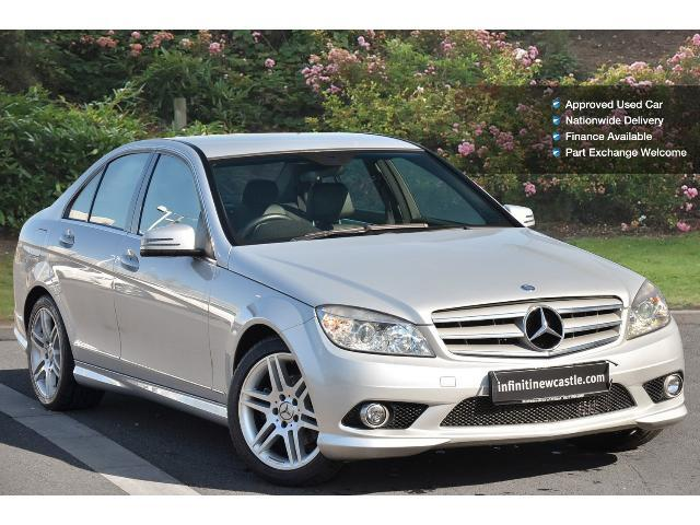Used mercedes benz c class c220 cdi sport 4dr diesel for Mercedes benz worldwide sales figures