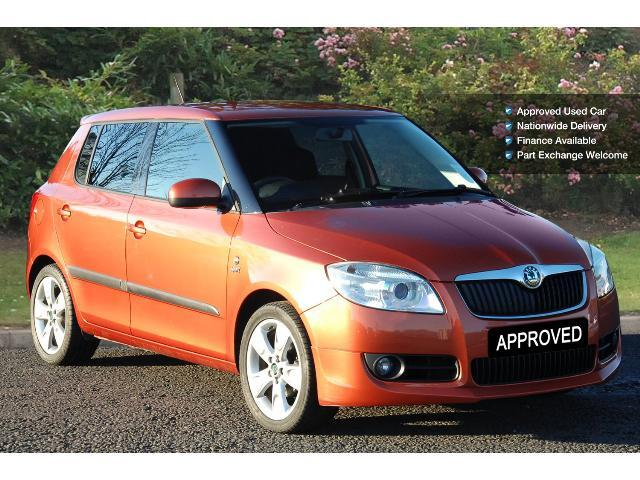 enquire on a used skoda fabia 1 4 tdi pd 80 sport 5dr diesel hatchback bristol street motors. Black Bedroom Furniture Sets. Home Design Ideas