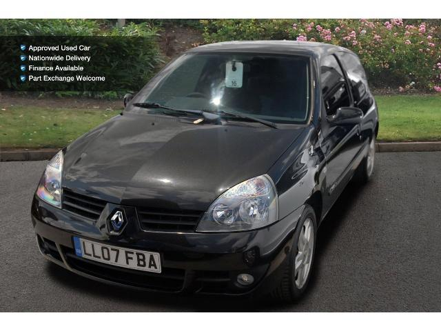 used renault clio 1 2 16v campus sport 2007 3dr petrol hatchback for sale bristol street motors. Black Bedroom Furniture Sets. Home Design Ideas