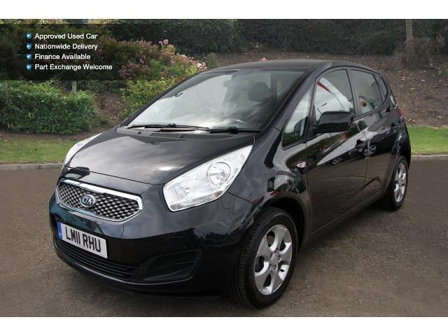 used kia venga 1 6 2 5dr auto petrol hatchback for sale bristol street motors. Black Bedroom Furniture Sets. Home Design Ideas
