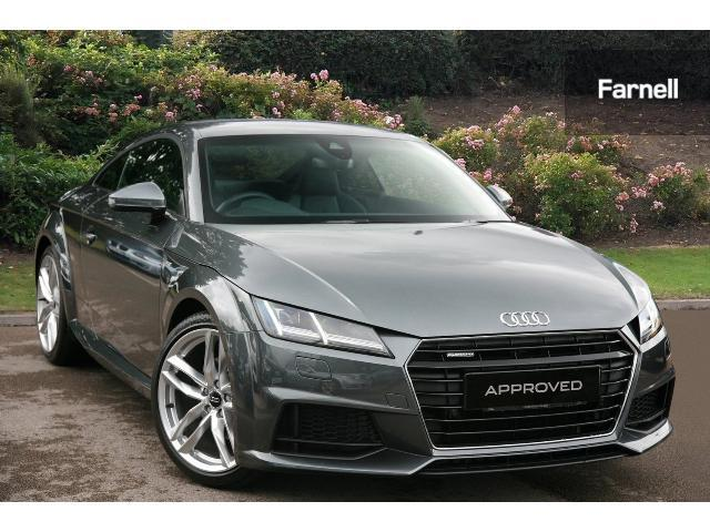 used audi tt 2 0t fsi quattro s line 2dr s tronic petrol coupe for sale bristol street motors. Black Bedroom Furniture Sets. Home Design Ideas