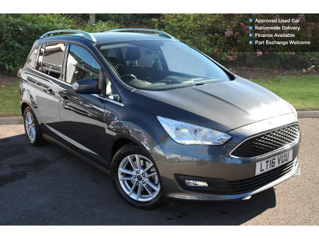 used ford grand c max 1 0 ecoboost 125 zetec 5dr petrol estate for sale bristol street motors. Black Bedroom Furniture Sets. Home Design Ideas