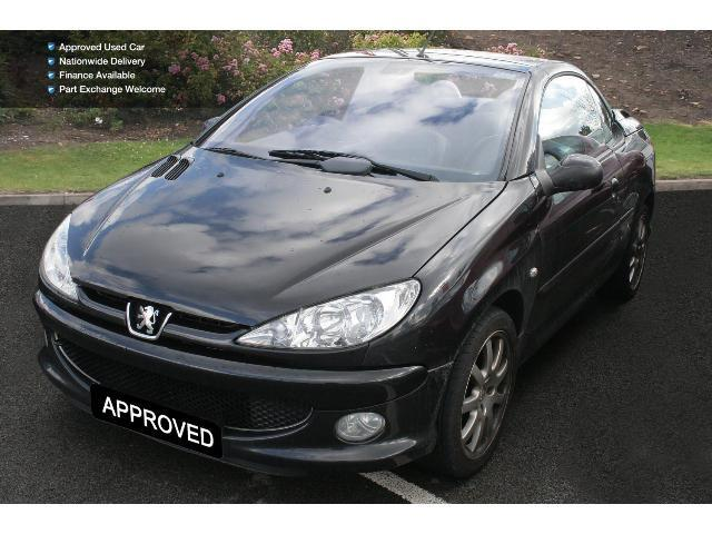 book a used peugeot 206 1 6 hdi allure 2dr dac cc diesel cabriolet test drive bristol street. Black Bedroom Furniture Sets. Home Design Ideas