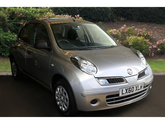 used nissan micra 1 2 80 visia 5dr petrol hatchback for. Black Bedroom Furniture Sets. Home Design Ideas