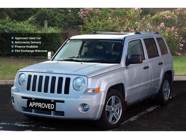 used jeep patriot 2 0 crd limited 5dr diesel station wagon. Black Bedroom Furniture Sets. Home Design Ideas