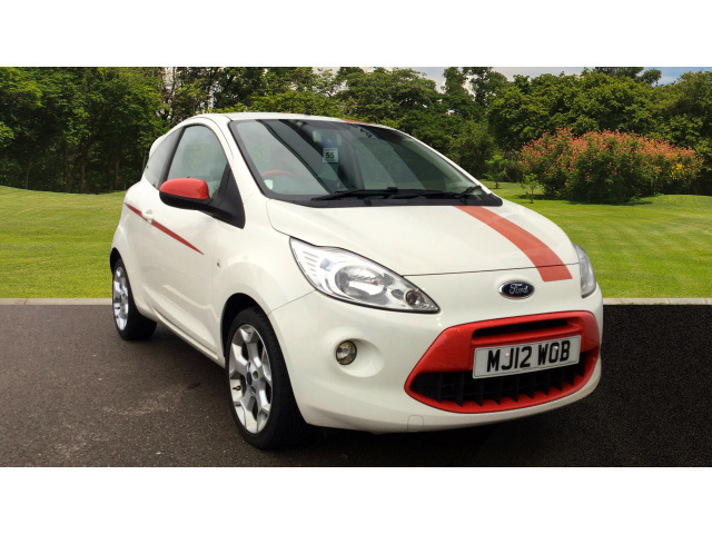 Ford Ka 1.2 Grand Prix 3Dr [start Stop] Petrol Hatchback