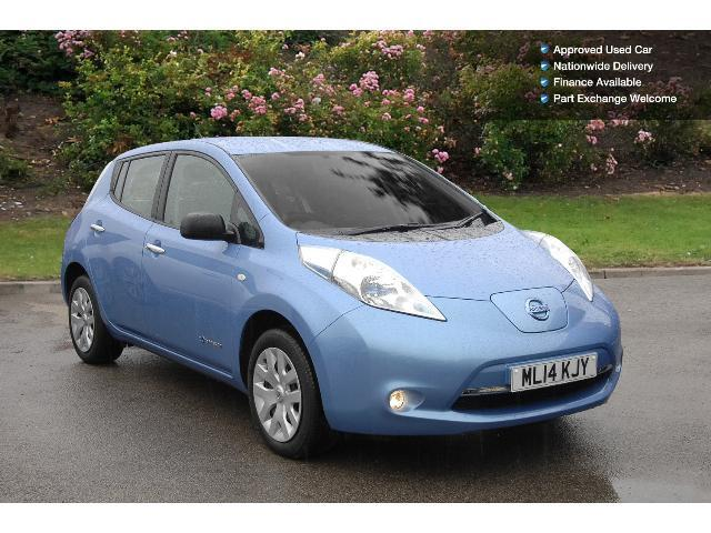 used nissan leaf visia 5dr auto electric hatchback for sale bristol street motors. Black Bedroom Furniture Sets. Home Design Ideas