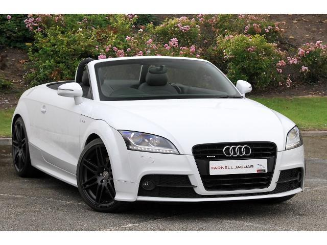 used audi tt 2 0 tdi quattro black edition 2dr diesel roadster for sale bristol street motors. Black Bedroom Furniture Sets. Home Design Ideas