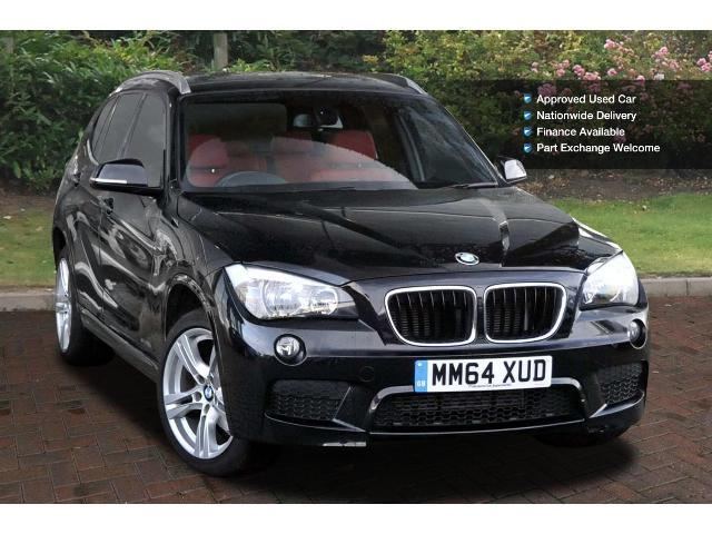 used bmw x1 sdrive 18d m sport 5dr step auto diesel estate. Black Bedroom Furniture Sets. Home Design Ideas