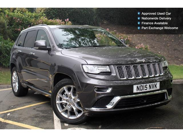 used jeep grand cherokee 3 0 crd summit 5dr auto diesel station wagon for sale bristol street. Black Bedroom Furniture Sets. Home Design Ideas
