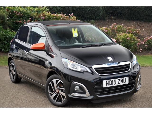 used peugeot 108 1 2 puretech roland garros 5dr petrol hatchback for sale bristol street motors. Black Bedroom Furniture Sets. Home Design Ideas