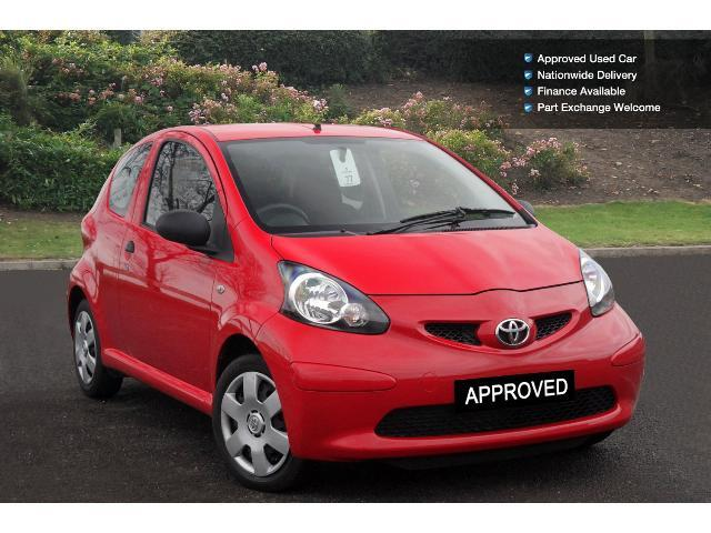 used toyota aygo 1 0 vvt i 3dr petrol hatchback for sale. Black Bedroom Furniture Sets. Home Design Ideas