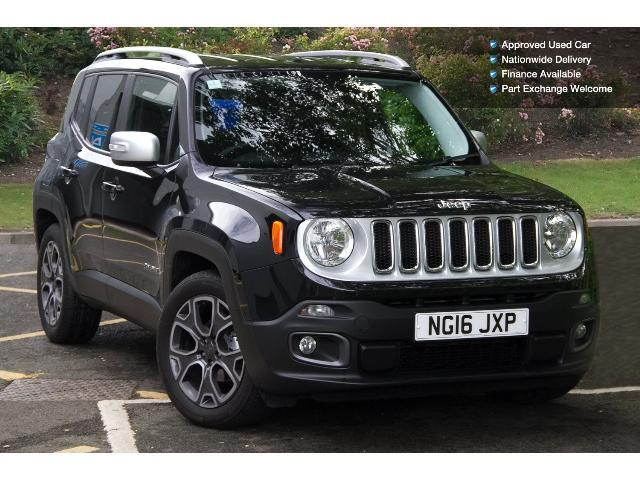 used jeep renegade 1 6 multijet limited 5dr diesel hatchback for sale bristol street motors. Black Bedroom Furniture Sets. Home Design Ideas